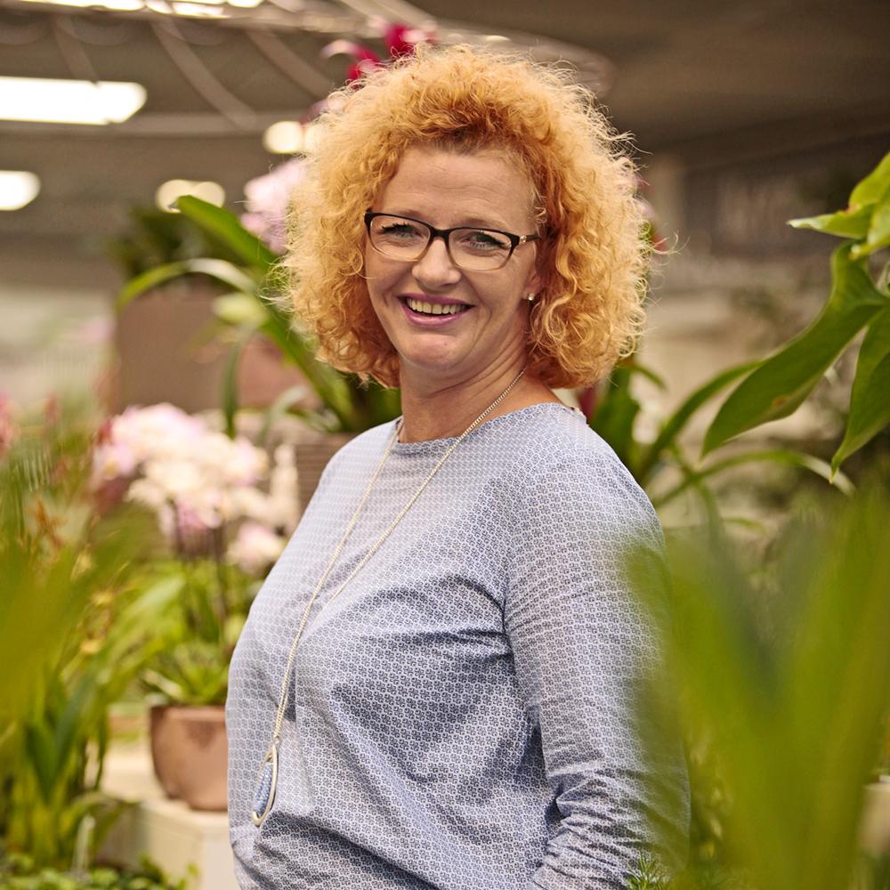 Horstkötter, Floristik und Dekoration in Beckum – Mitarbeiterin Birgit Vehrenkemper