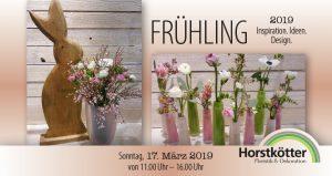 Frühlingsausstellung Blumen und Deko Horstkötter Beckum